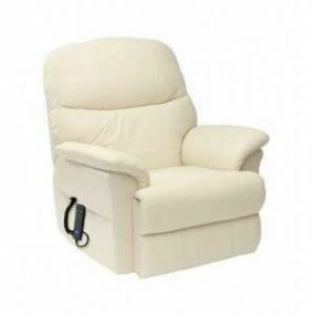 Lars Rise & Recline Armchair - Cream (Dual Motor)