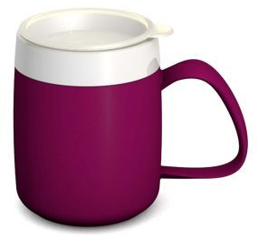 Ornamin One Handled Mug + Internal Cone - Blackberry