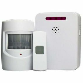 Wireless Driveway Monitor With Doorbell