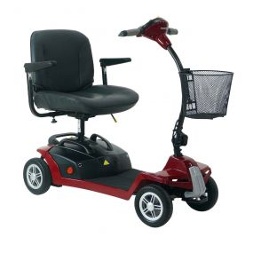 Shoprider Mikra Portable Mobility Scooter - Red
