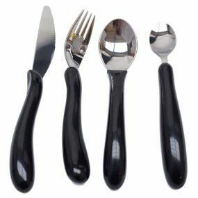 Caring Cutlery Set - Black