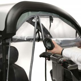 Breeze S4 - Vinyl Sides For Solid Canopy
