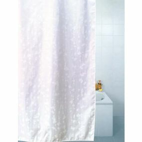 Patterned Polyester Shower Curtains - Blossom (180x180cm)