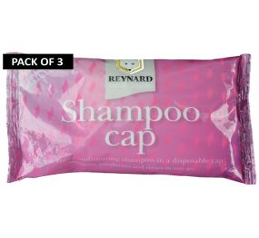 No Rinse Shampoo Cap - Pack of 3