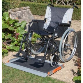 Premium Non-Folding Wheelchair Ramp - 5ft