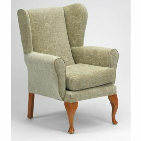 The Queen Anne High Seat Chair - Sage