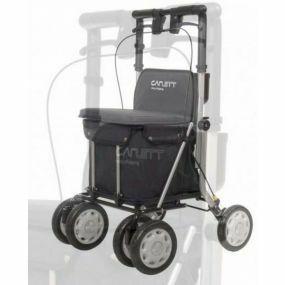 Carlett Shopping Trolley / Rollator - Black