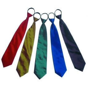 Silk Zipper Ties