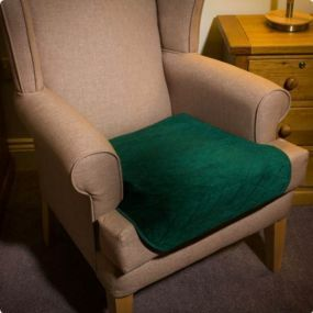 Washable Chair Pad - Green