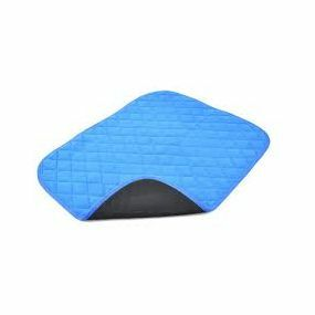 Vida Washable Chair Pads - 50x60cm (Blue)