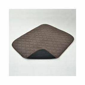 Vida Washable Chair Pads - 50x60cm (Brown)