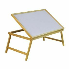 Folding Adjustable Wooden Bed Tray