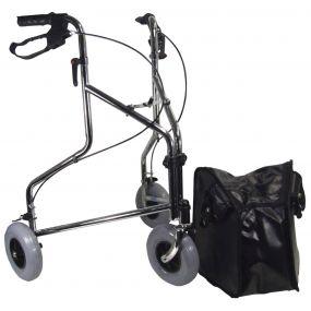 Tri Walker With Bag - Chrome