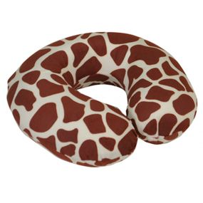 Memory Foam Neck Cushion - White Giraffe