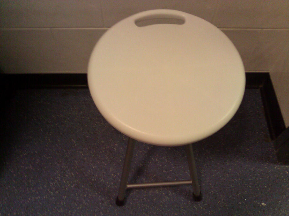 Foldable Shower Stool - Shower Chairs (Stationary) - Benches ...