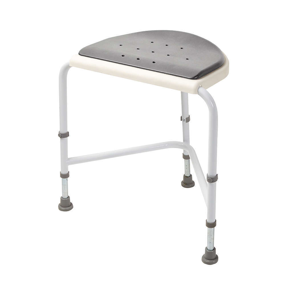 Nuvo - Corner Shower Stool - Padded Seat - Shower Stools - Benches ...