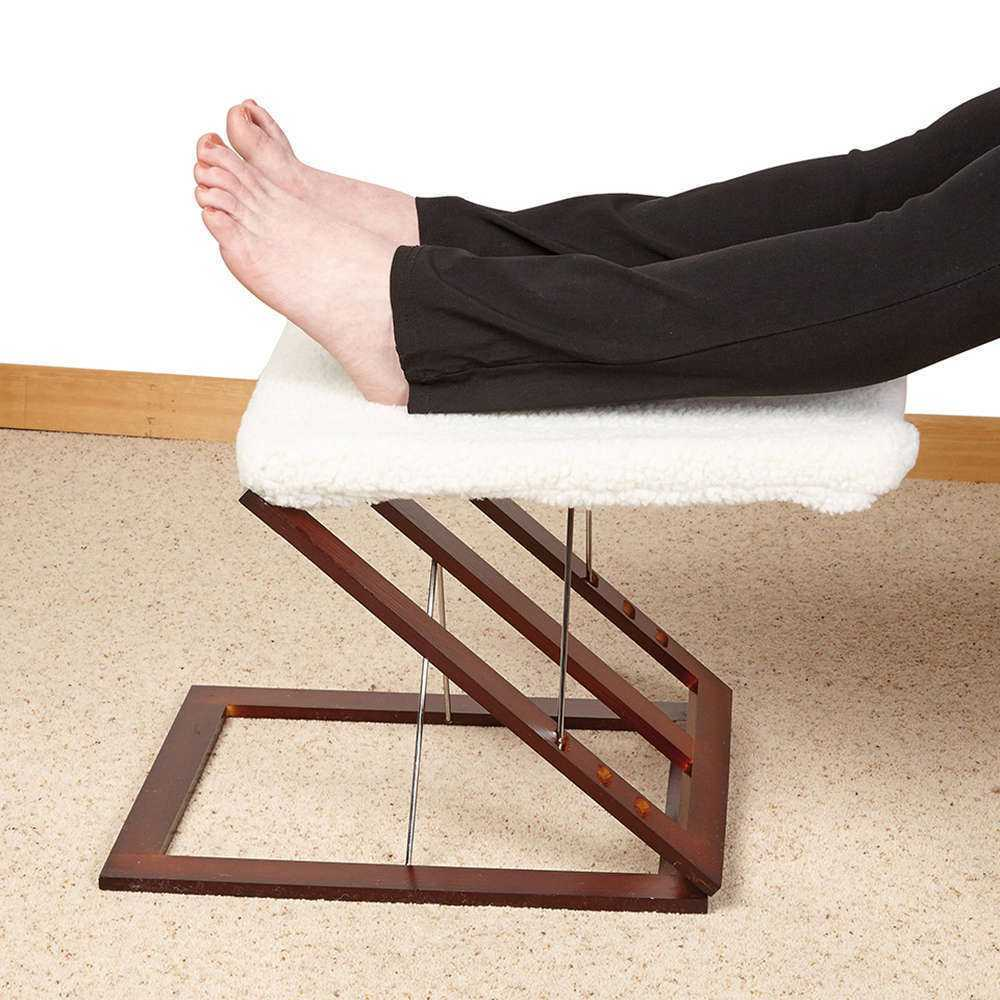 Three Way Adjustable Foot Rest Foot Stools Steps