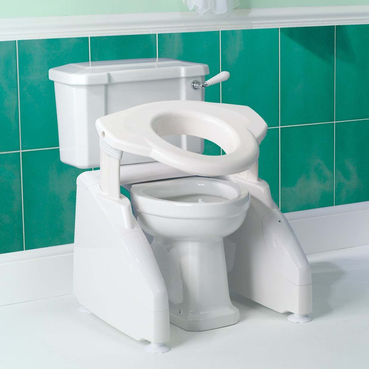 Solo Toilet Lift / Raiser - Without Arms - Powered Toilet Raisers ...