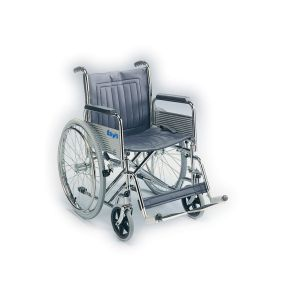 Heavy-Duty Self Propelled Wheelchair With Detachable Armrests