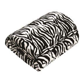 4-in-1 Memory Foam Cushion - Zebra Print