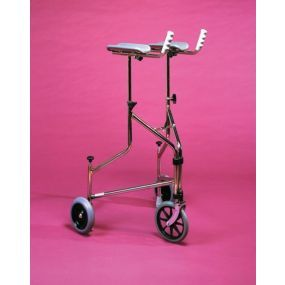 Wheeled Walker With Armrests