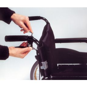 The Wheelchair Easy Brake - Dual Leaver