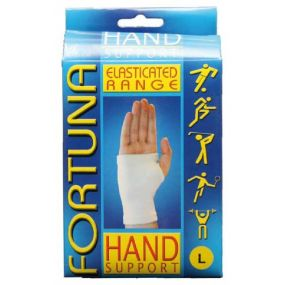 Fortuna Elasticated Hand Support (Large)