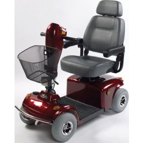 Freerider Mayfair 4 Wheel Mobility Scooter - Red