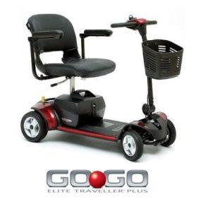 Pride GoGo Elite Traveller Plus 4 Mobility Scooter
