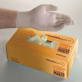 Healthguard Latex Exam Gloves - Powder Free