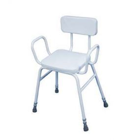 Malling Perching Stool with Padded Back