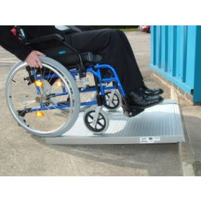 Aluminium Roll-Up Wheelchair / Scoooter Ramp - 3 Foot