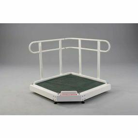 Fiberglass Adjustable Height Platform - 30cm