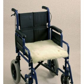 Wheelchair Seat Fleece Cover