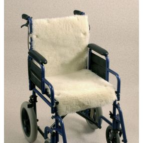 Wheelchair Seat & Backrest Fleece Cover