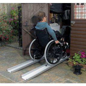 Axcess Lightweight Portable Ramps - 1m