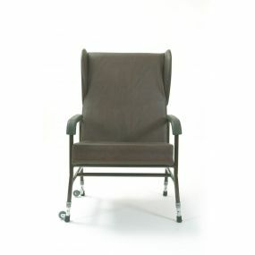 Bariatric High back Chair (With Wings Brown)