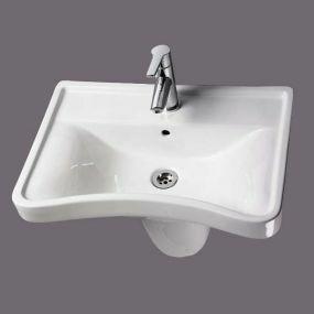 Ergonomic Concave Washbasin