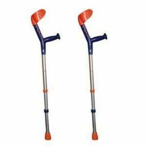 Tiki Childrens Crutches - Blue/Orange