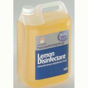 Disinfectant And Deodoriser Lemon (2 X 5ltr Pack)