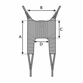 Invacare Universal Standard Sling - Medium (Polyester)