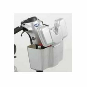 Comet Scooter Front Lockable Box - Silver