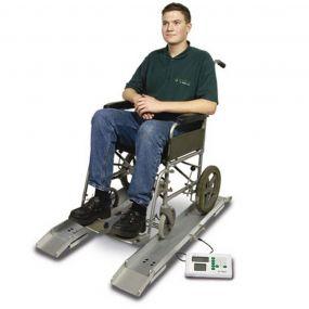 MARSDEN™ Portable Wheelchair Weigh Beams with BMI - MPWS-300