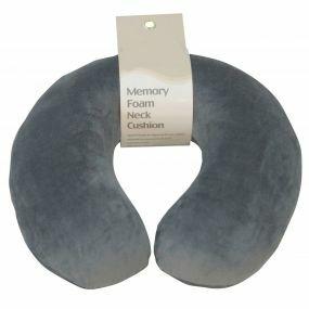 Memory Foam Neck Cushion - Grey