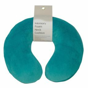 Memory Foam Neck Cushion - Teal Green