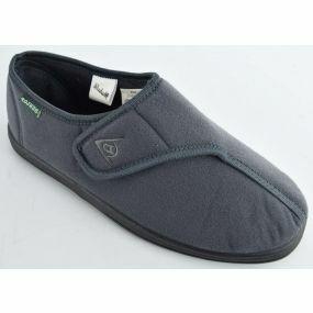 Mens Arthur Slippers - Size 7 (Grey)