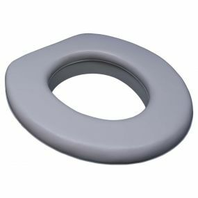Padded Toilet Seat With Rim & Vinyl Cover