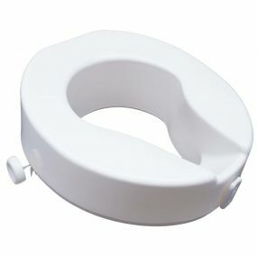 Ashby Raised Toilet Seat - 4 Inch