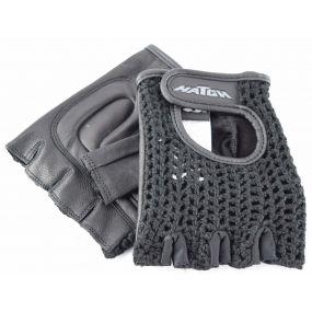 Padded Mesh Wheelchair Gloves - Medium
