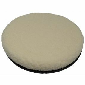 Shine Fleece Cover Swivel Cushion - White (16x2